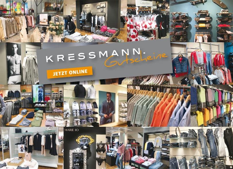 Gutscheine Kressmann Hildesheim